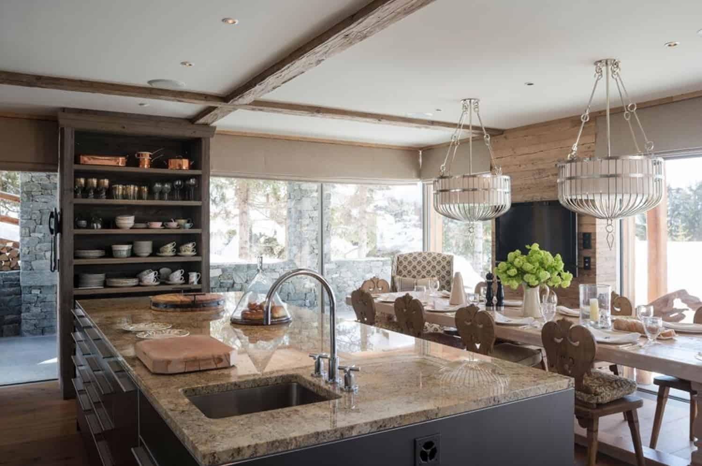 mountain-ski-chalet-kitchen