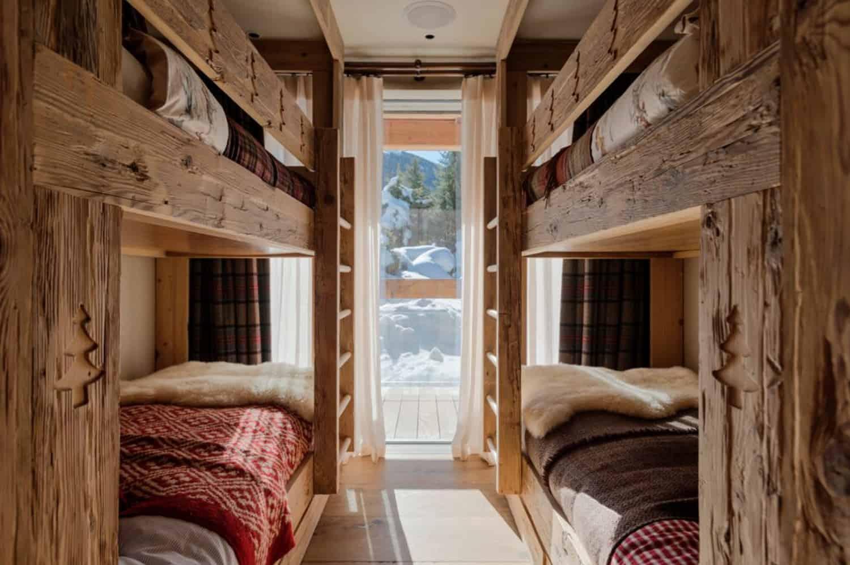 mountain-ski-chalet-bunk-bedroom