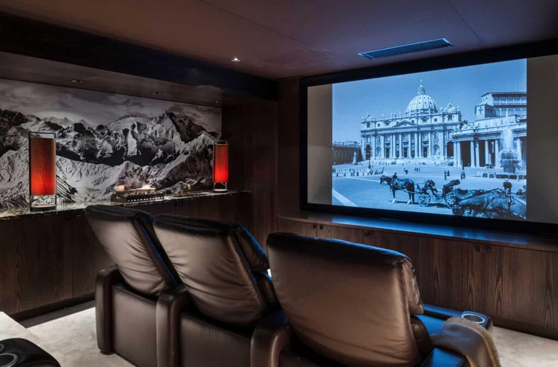mountain-ski-chalet-home-theater