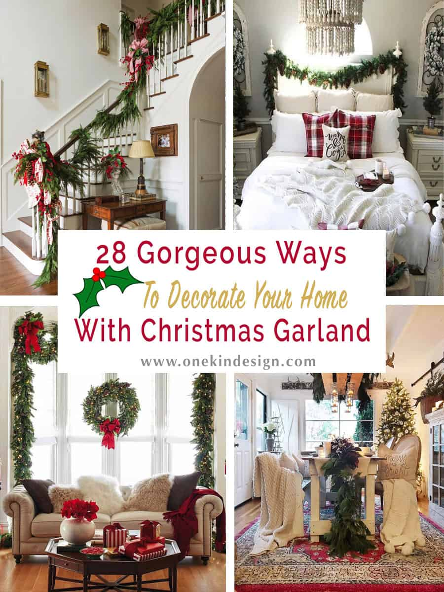 gorgeous-christmas-garland-decorating-ideas