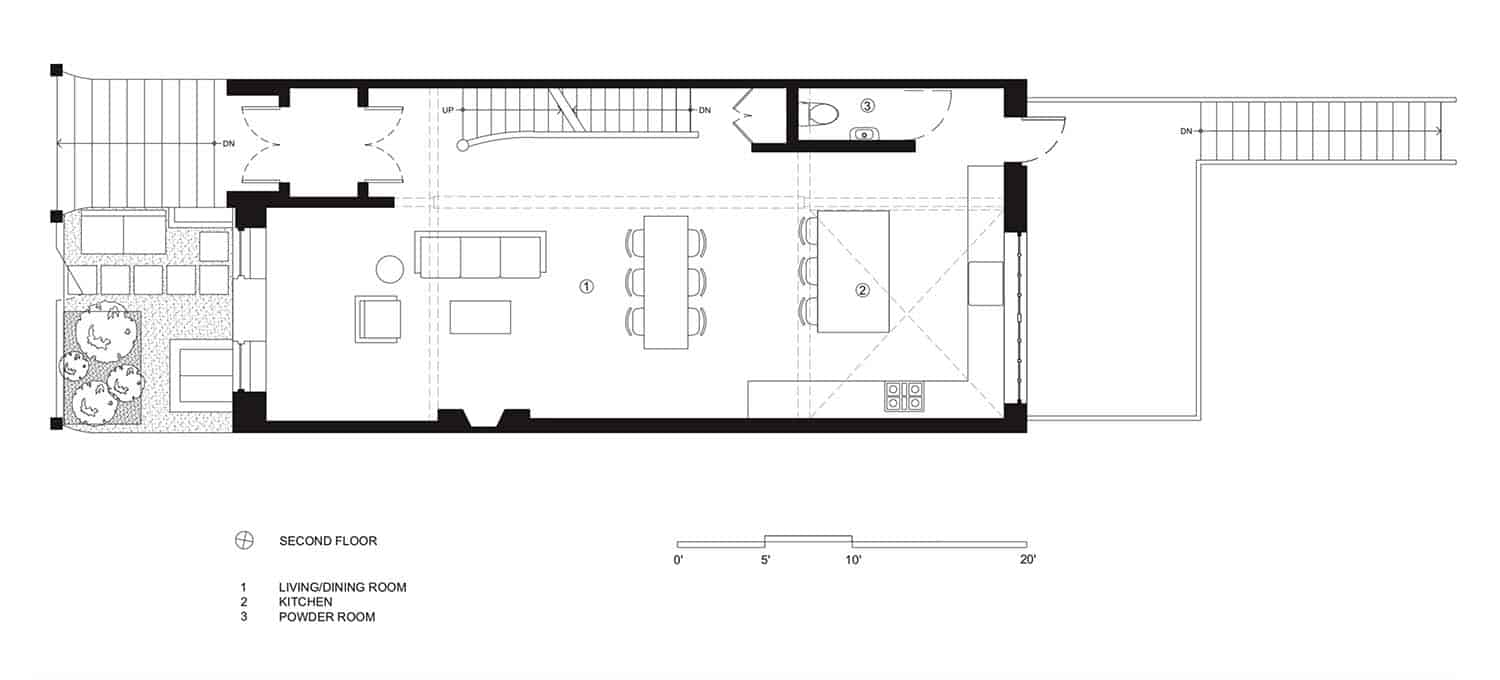 townhouse-industrial-renovation-floor-plan