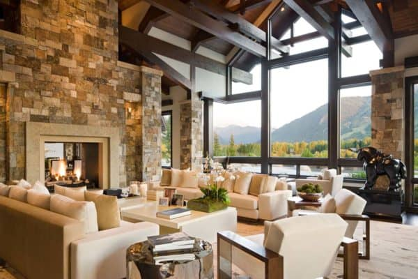 featured posts image for Luxury mountain contemporary home with breathtaking details in Colorado