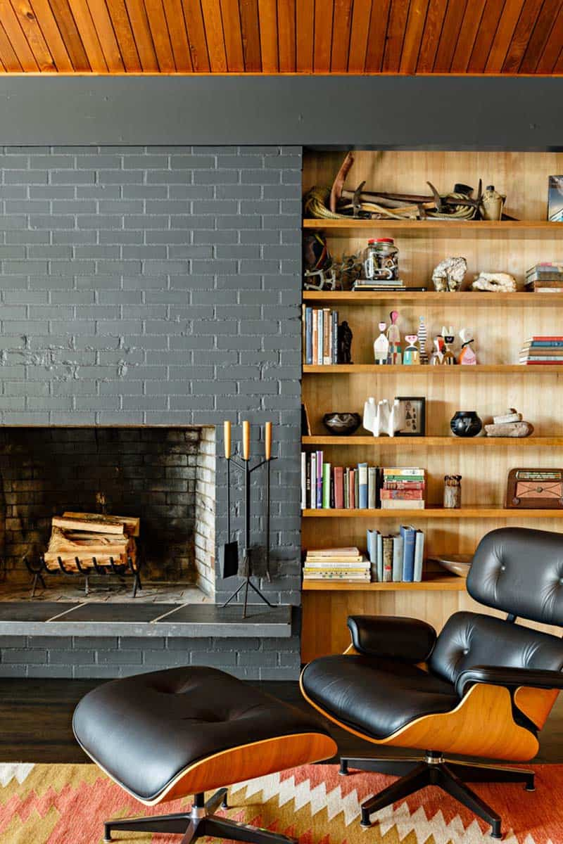 midcentury-modern-living-room-fireplace