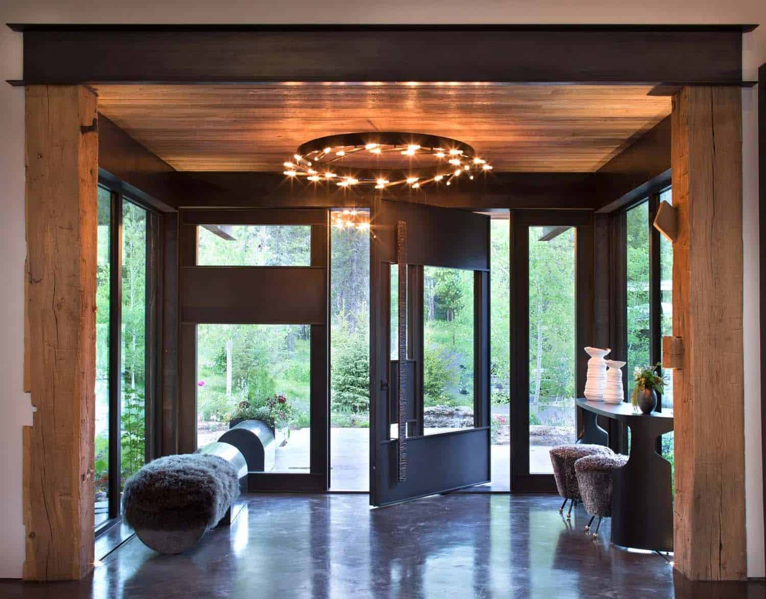 modern-mountain-home-entry