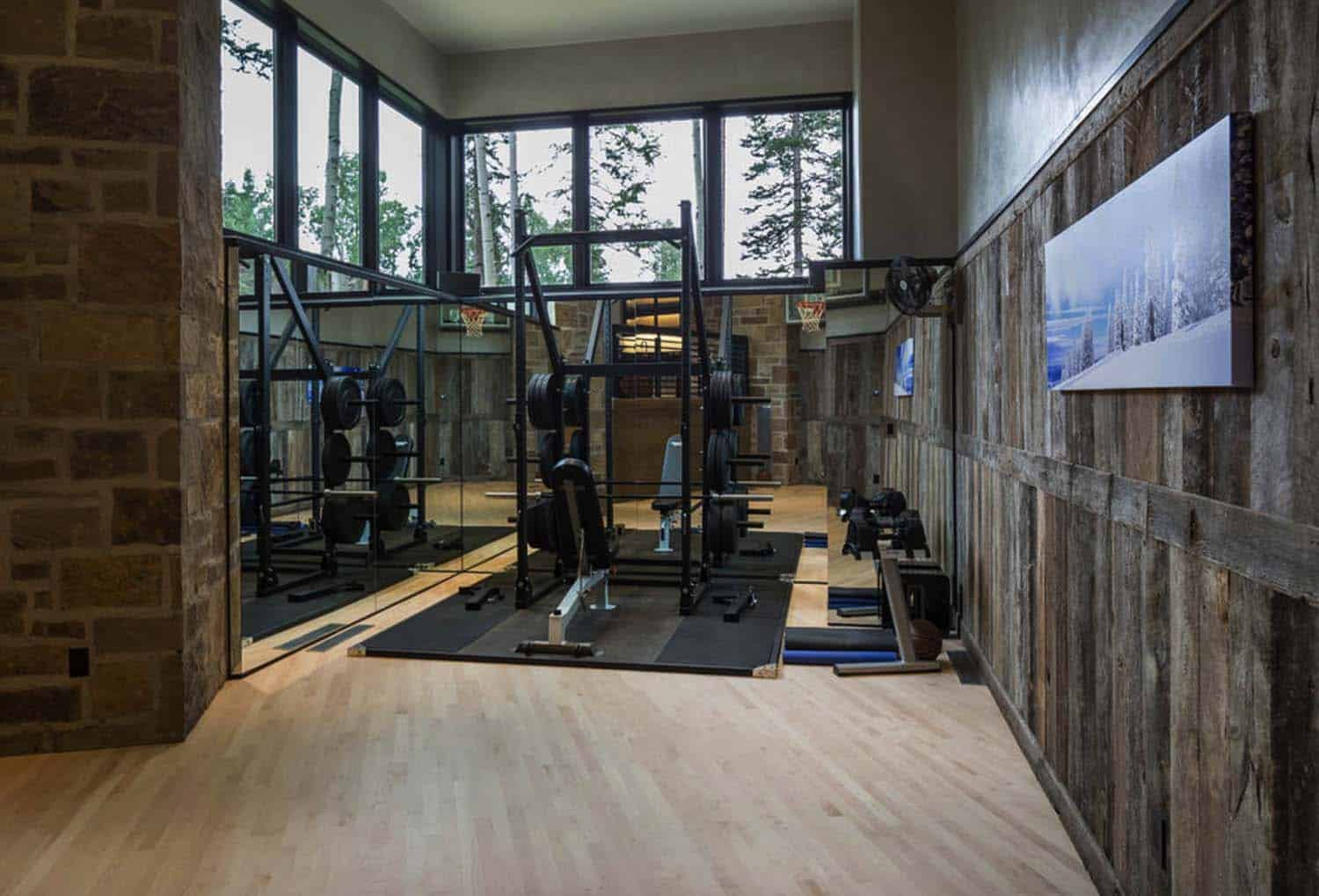 modern-rustic-home-gym