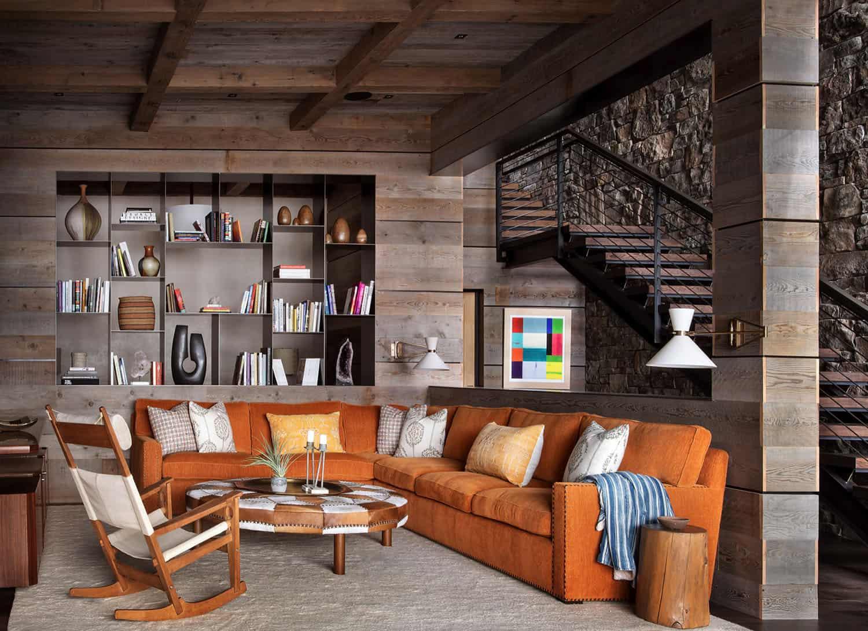 modern-rustic-basement
