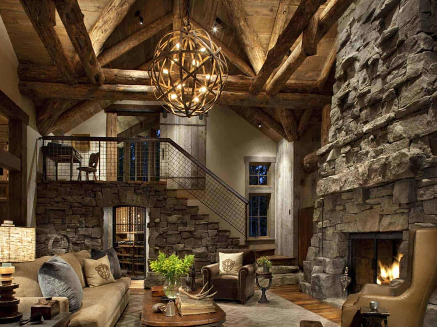mountain-rustic-living-room