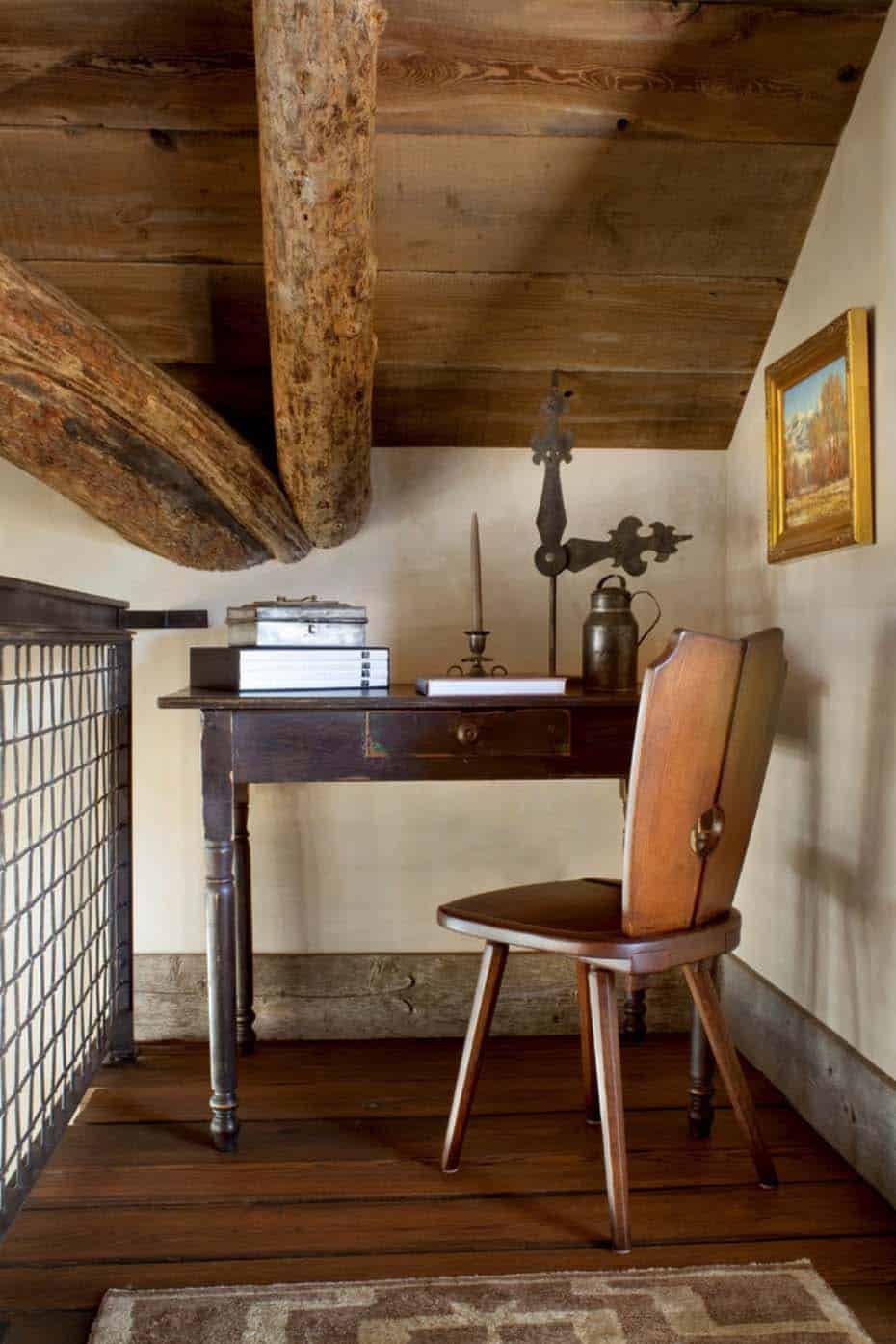 mountain-rustic-home-office