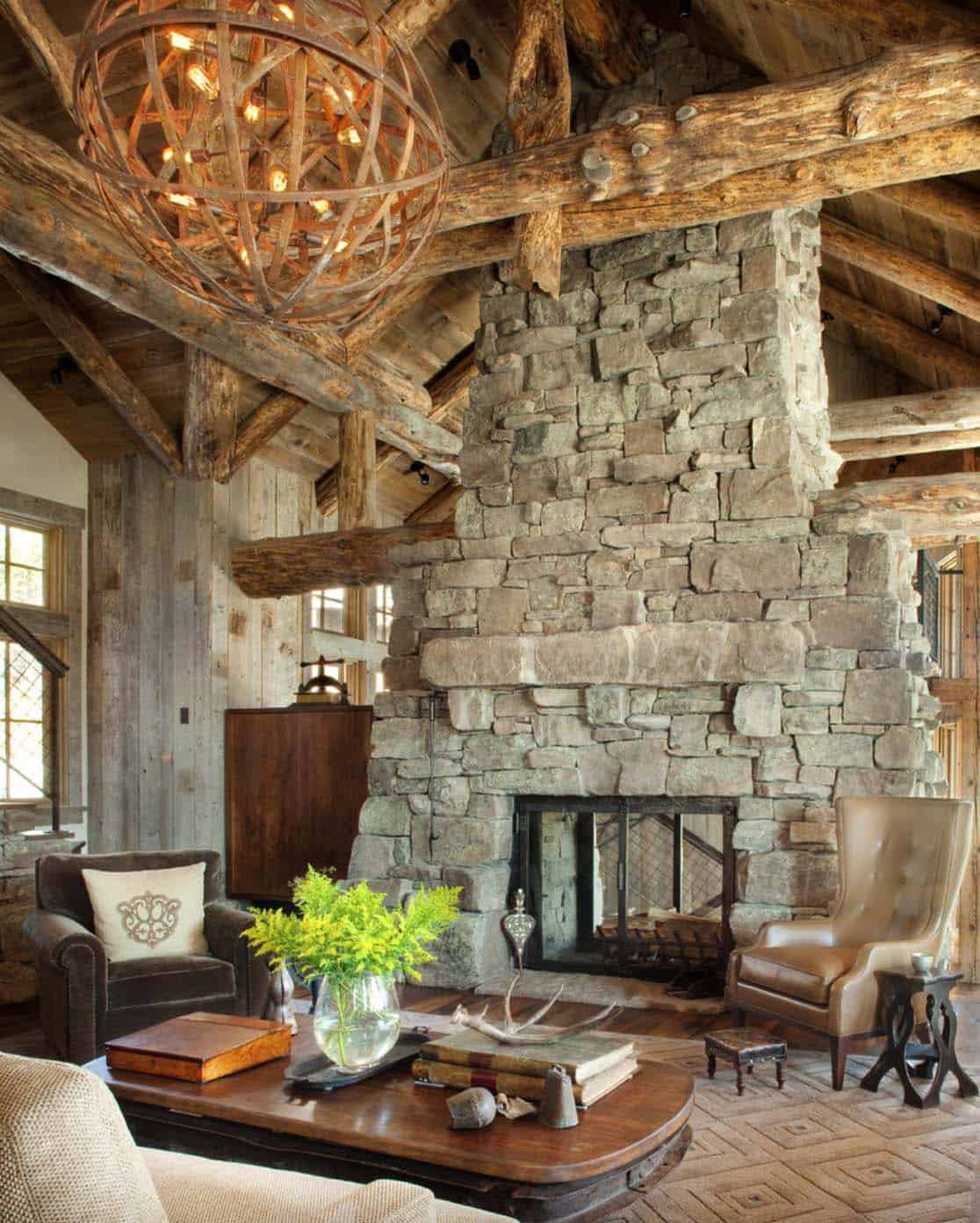 mountain-rustic-living-room-fireplace