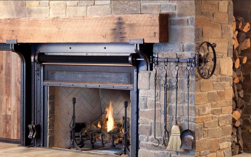 rustic-fireplace-detail