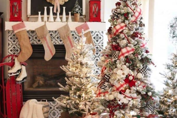 featured posts image for 30+ Cozy And Wonderful Rustic Farmhouse Christmas Decorating Ideas