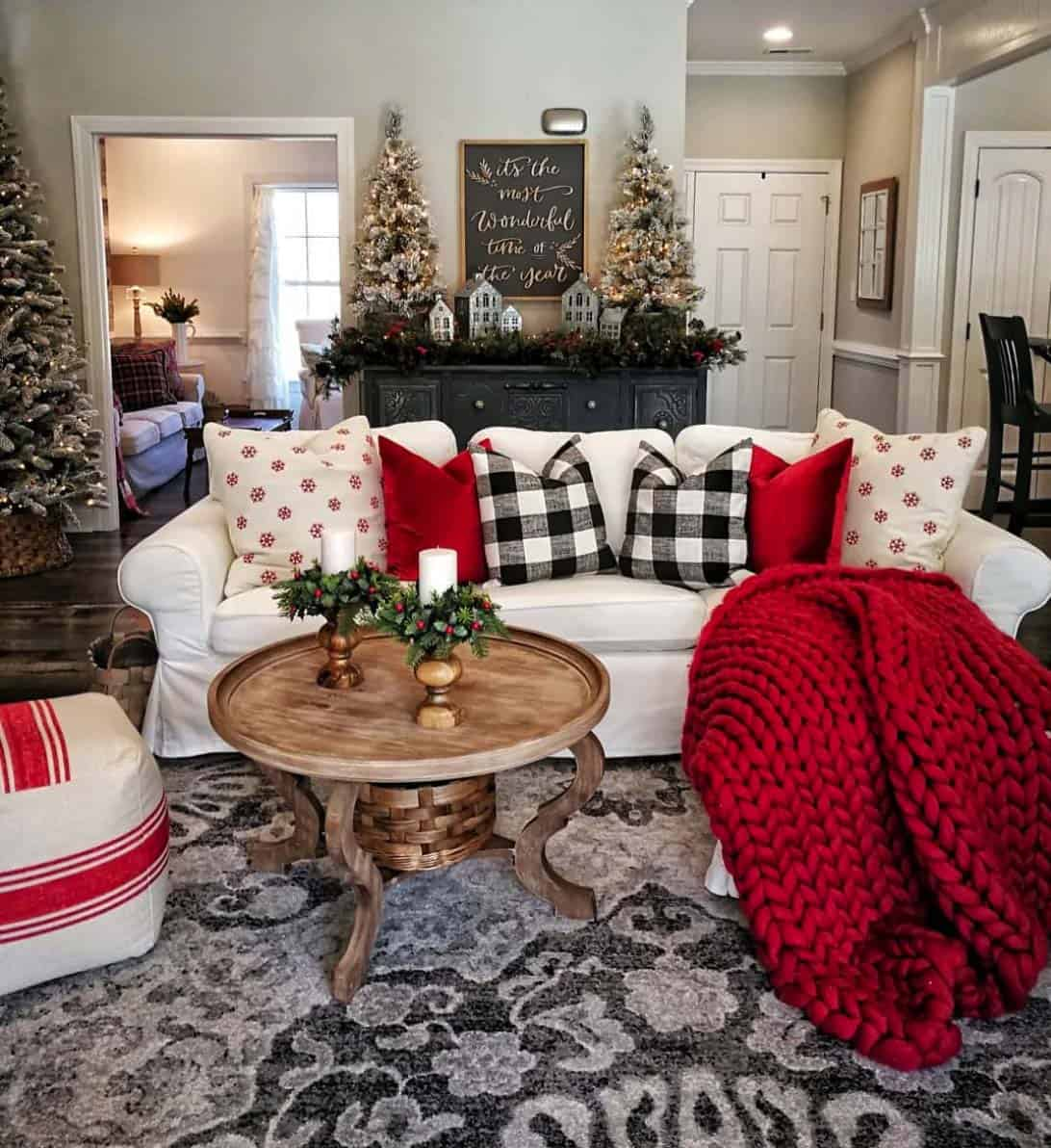 rustic-farmhouse-christmas-decorating-ideas-living-room