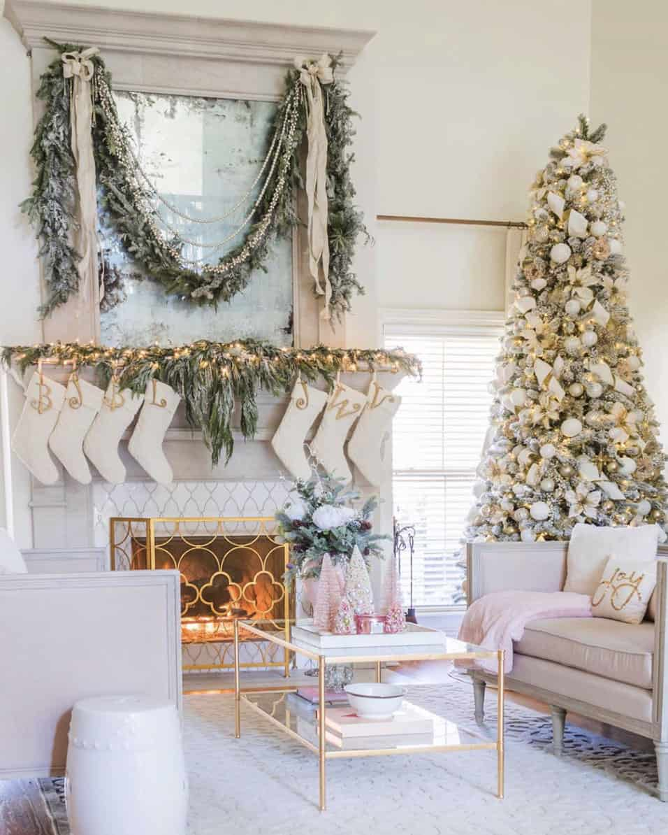 beautiful-christmas-mantel-ideas