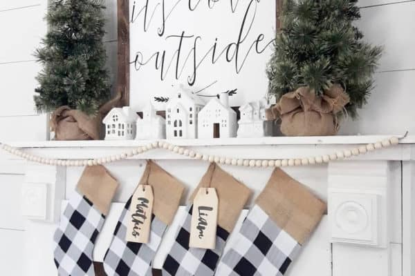 featured posts image for Baby It's Cold Outside: 25 Christmas Mantel Ideas For Winter Warmth