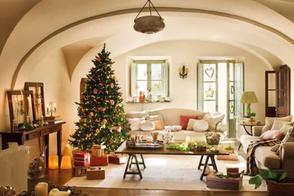 featured posts image for An old farmhouse in Spain that is inspired by Christmas traditions