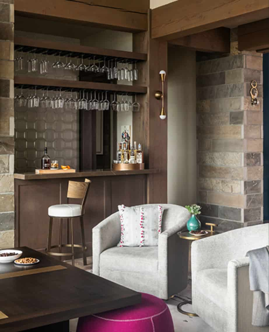 contemporary-lodge-style-home-bar