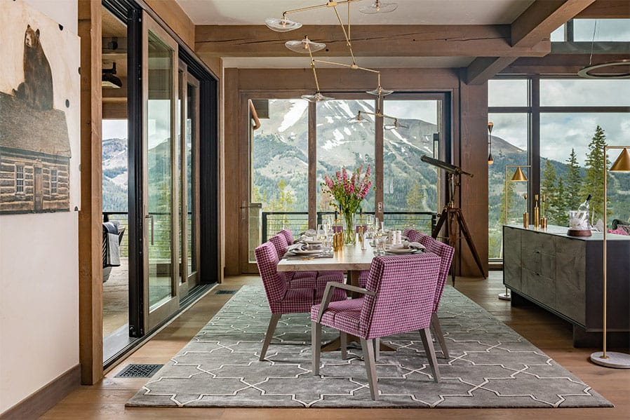 contemporary-lodge-style-dining-room