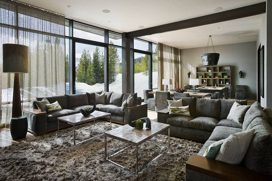 contemporary-mountain-chalet-family-room