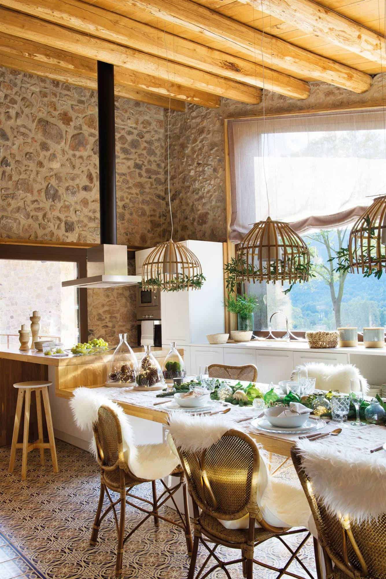 converted-barn-house-christmas-decorations-kitchen