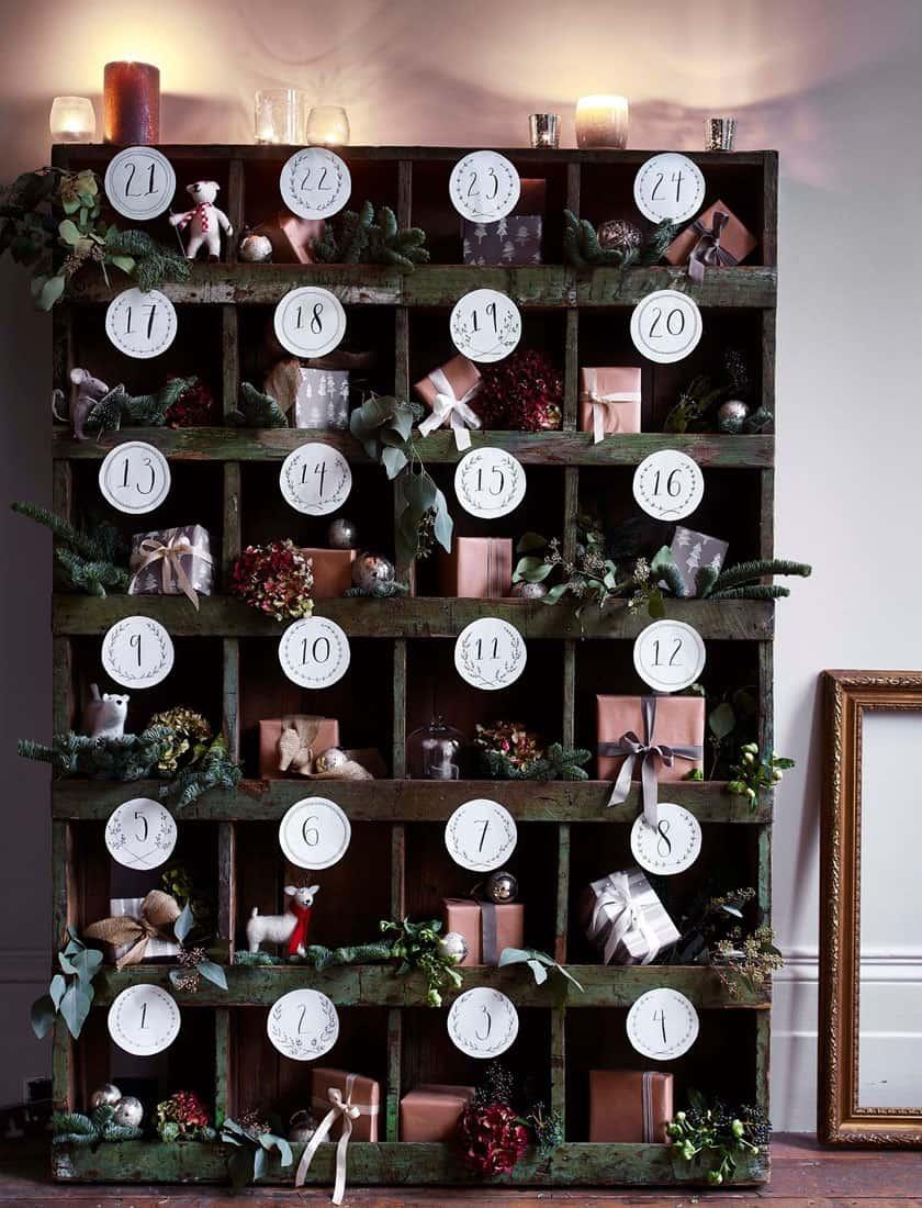 christmas-decor-ideas-advent-calendar