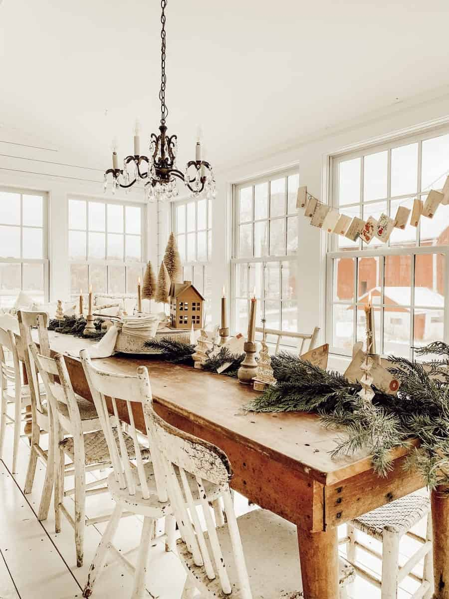 gorgeous-christmas-table-setting-ideas-farmhouse