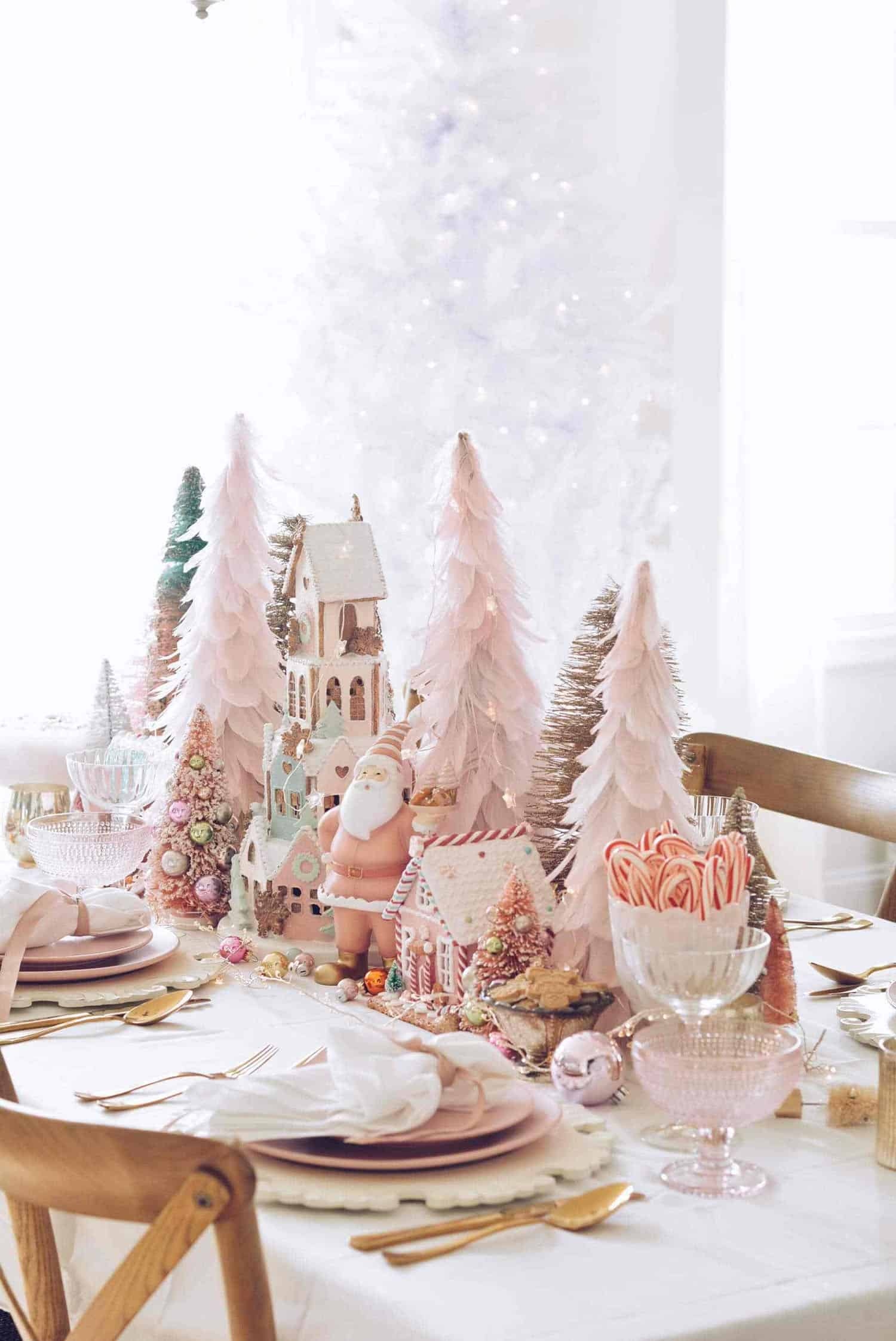 gorgeous-christmas-table-setting-ideas-pink-theme
