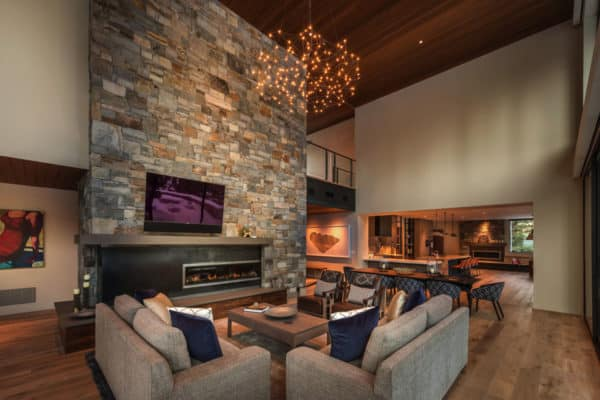 featured posts image for Lodge-like mountain home offers a peaceful retreat in Tahoe