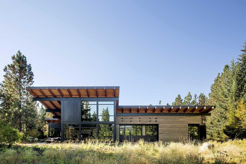 mountain-view-cabin-contemporary-exterior