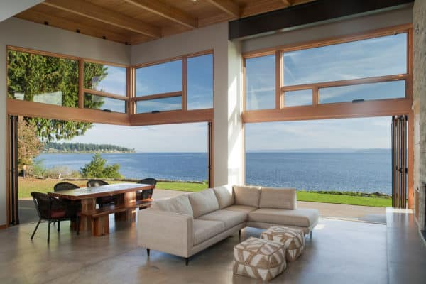 featured posts image for Pacific Northwest-style house on Bainbridge Island: Seaview Escape