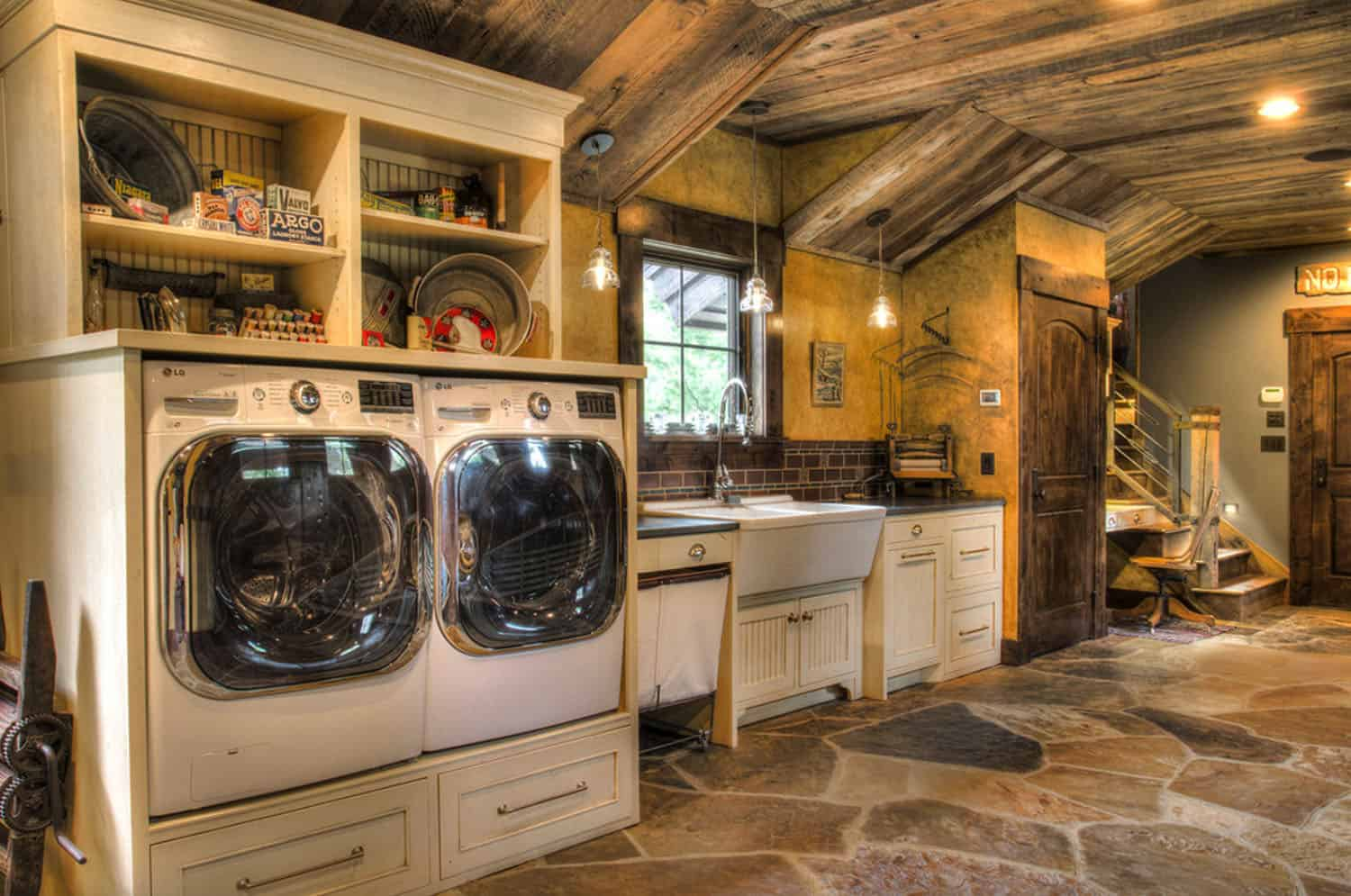 rustic-laundry-room