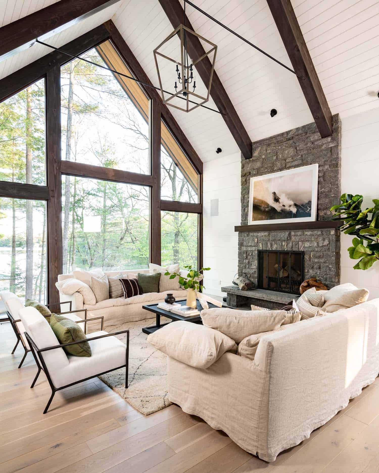 contemporary-cottage-lake-house-living-room
