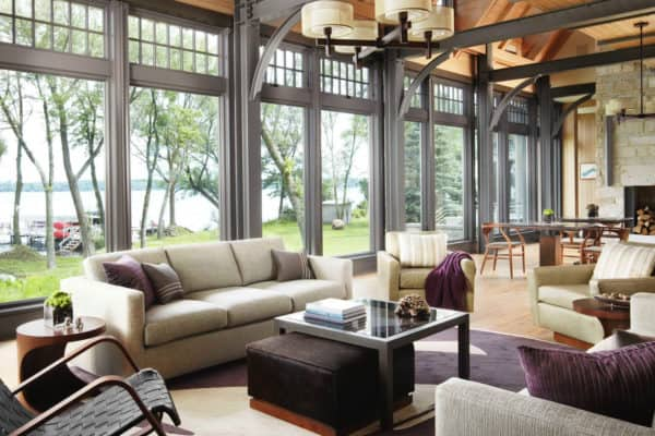 featured posts image for Sophisticated yet casual lake house offers tranquil getaway in Wisconsin