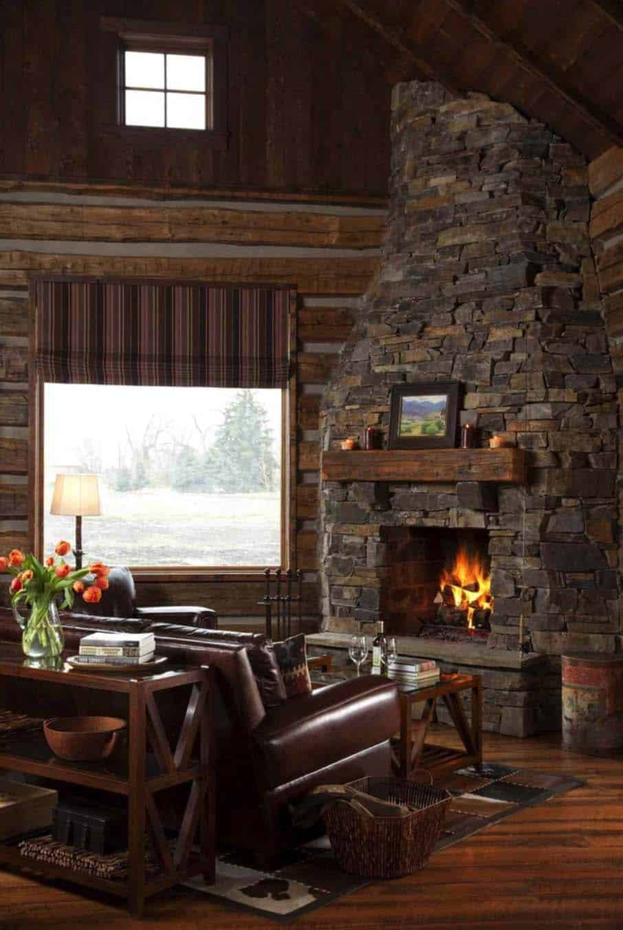 cozy-rustic-cabin-living-room