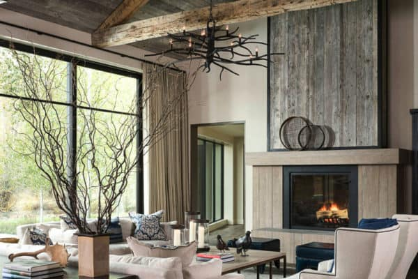 featured posts image for Absolutely stunning farmhouse modern home nestled on an Idaho river