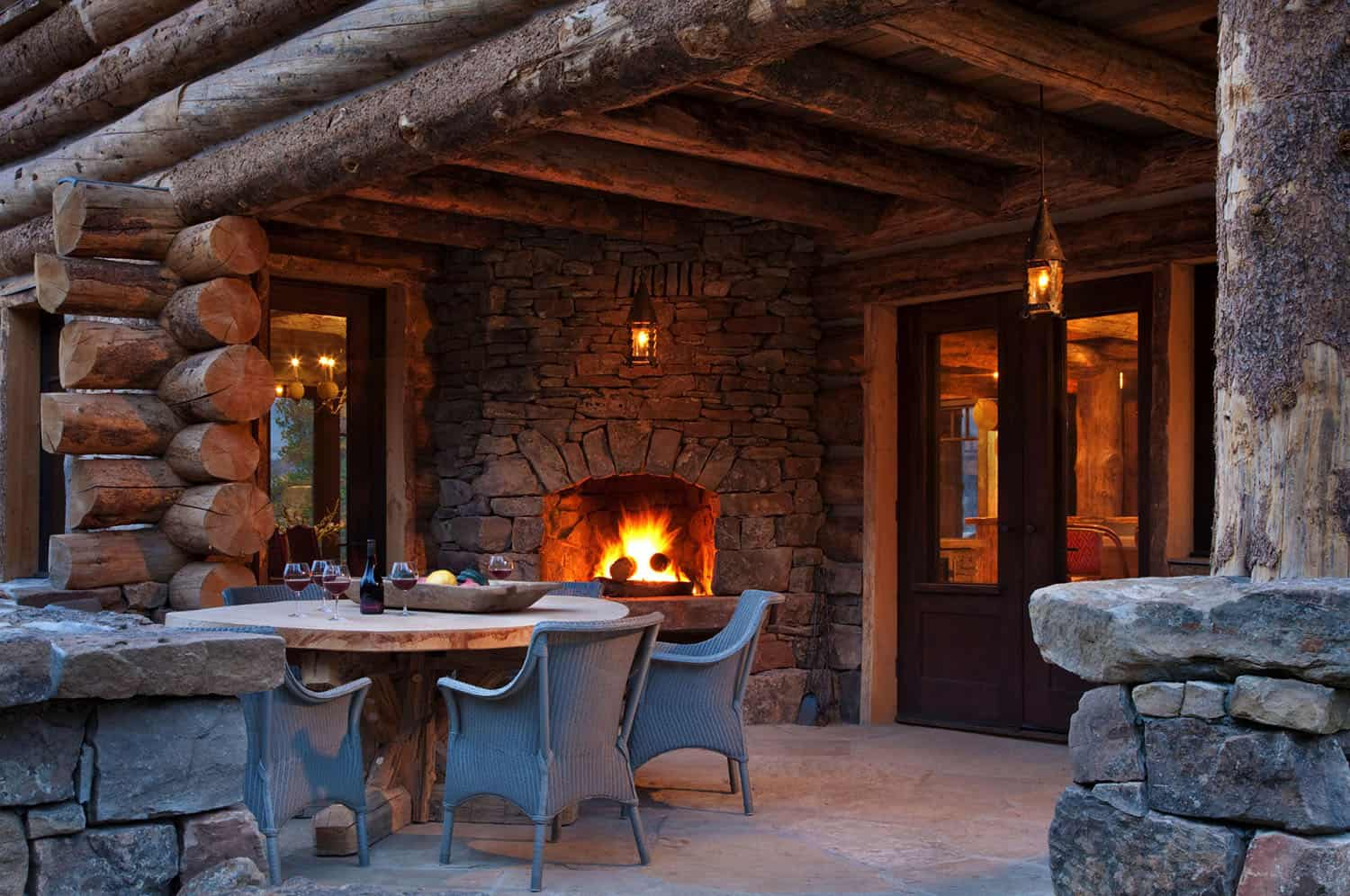 mountain-chic-cabin-rustic-patio