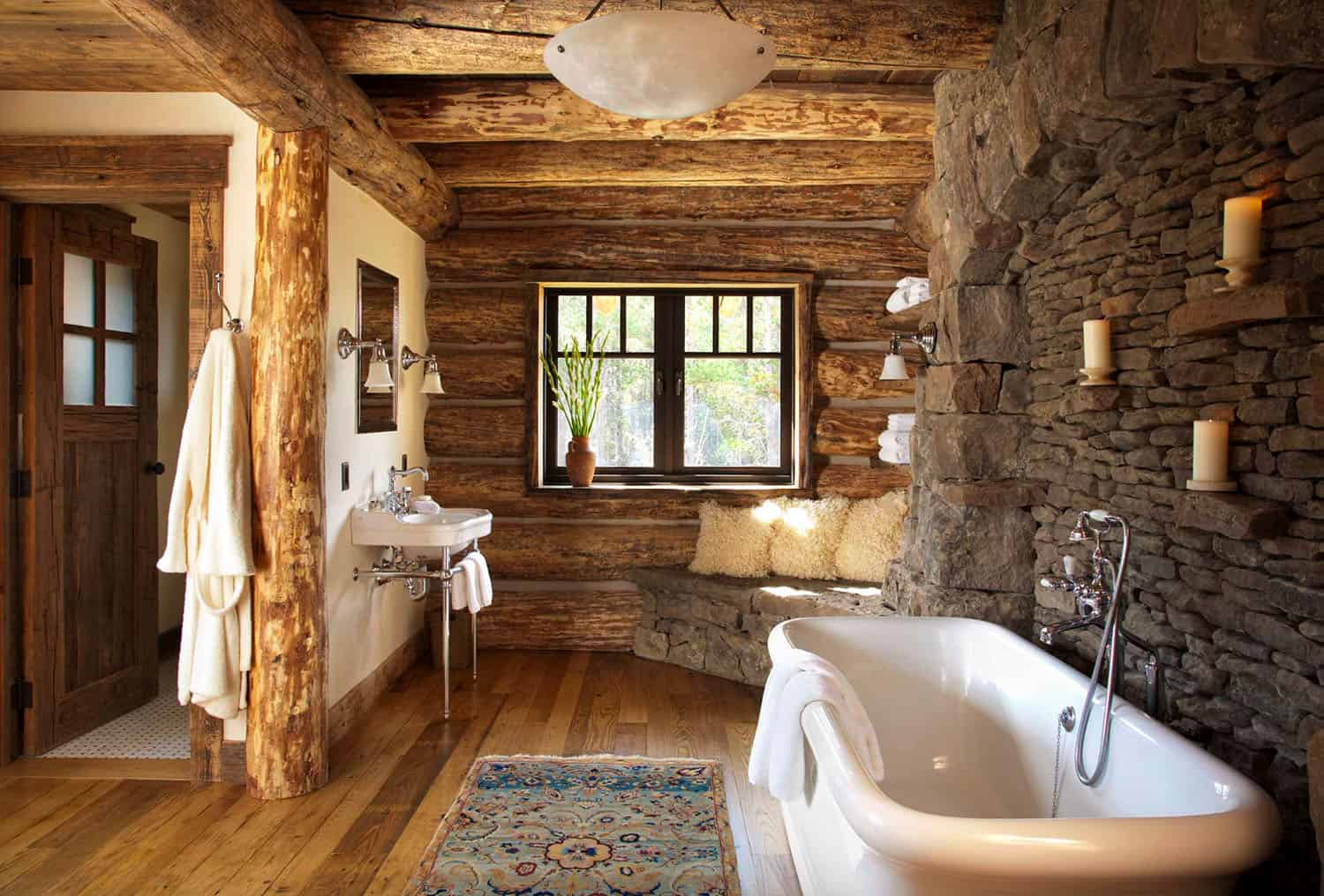 mountain-chic-cabin-rustic-bathroom