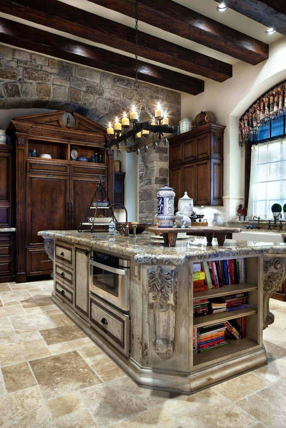 traditional-english-manor-house-kitchen