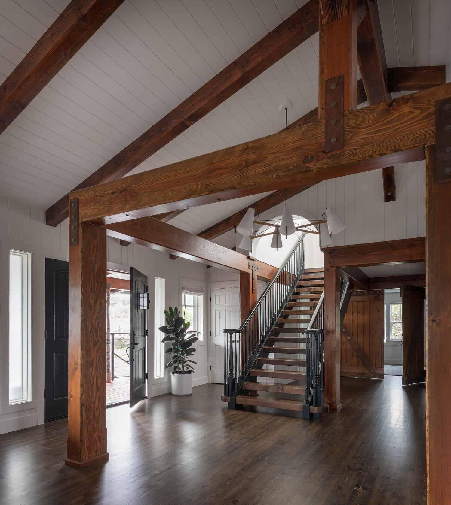 contemporary-entry-staircase