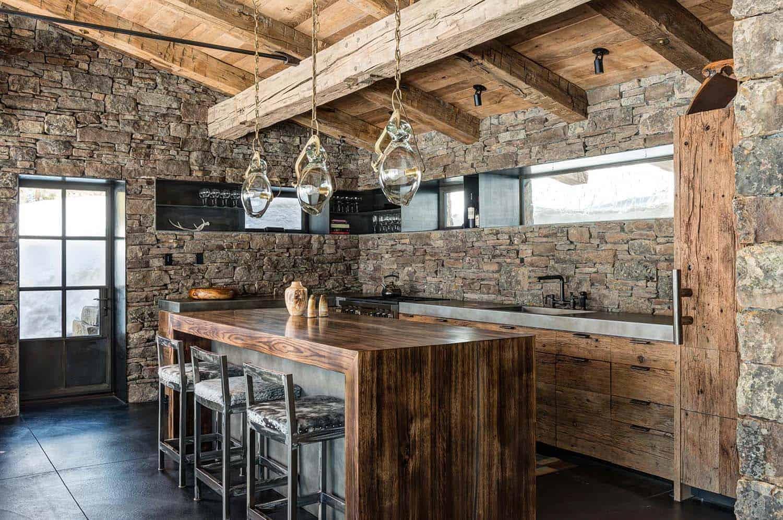 cozy-mountain-cabin-kitchen