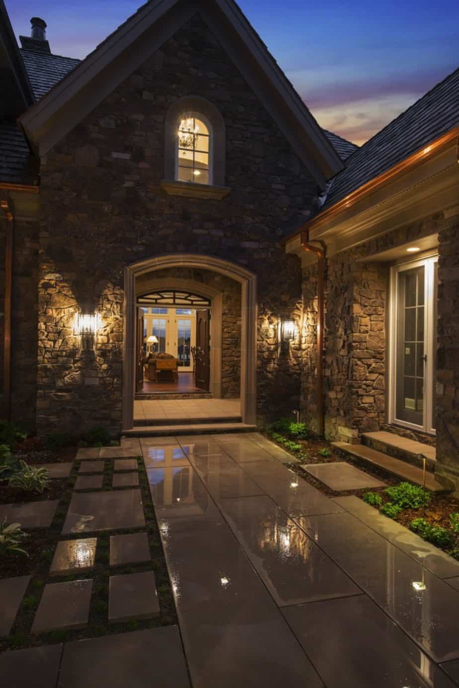 french-country-traditional-entry
