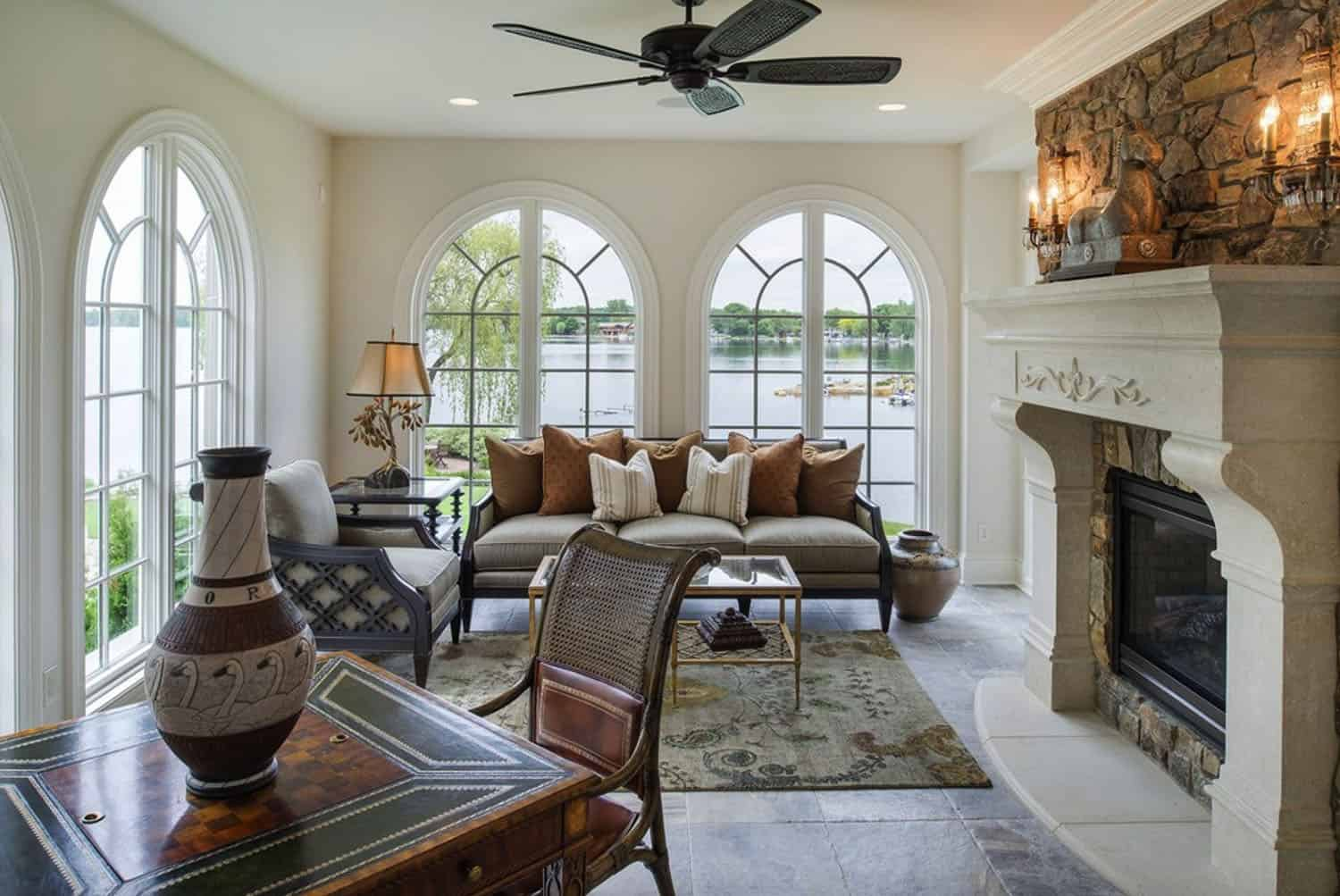 french-country-traditional-sunroom