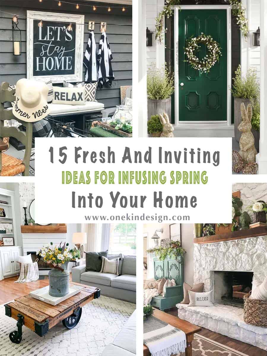 15 Fresh And Inviting Ideas For Infusing Spring Into Your Home
