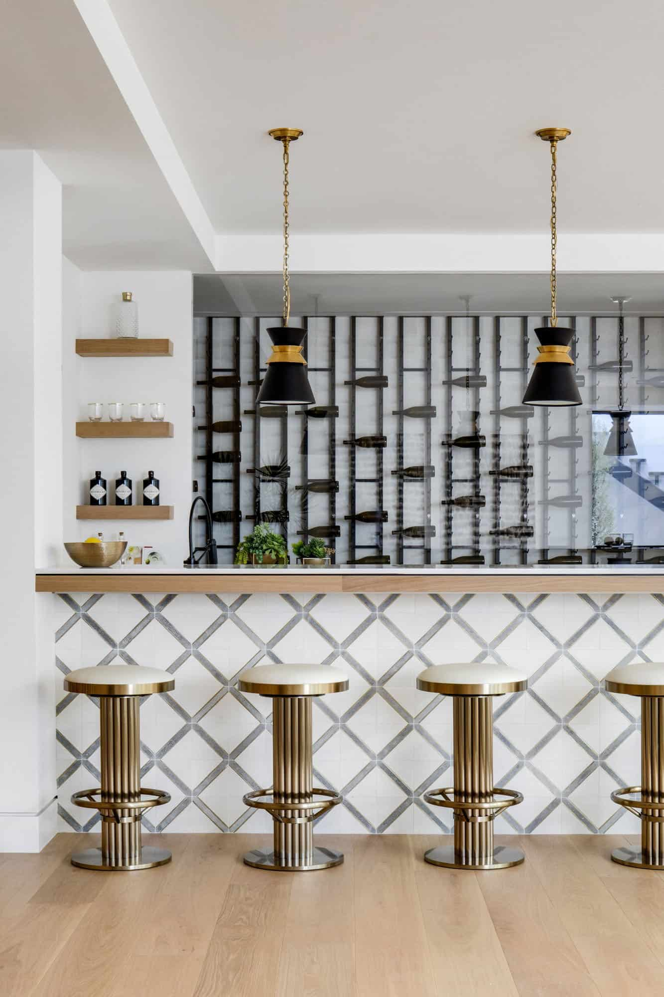 midcentury-basement-home-bar