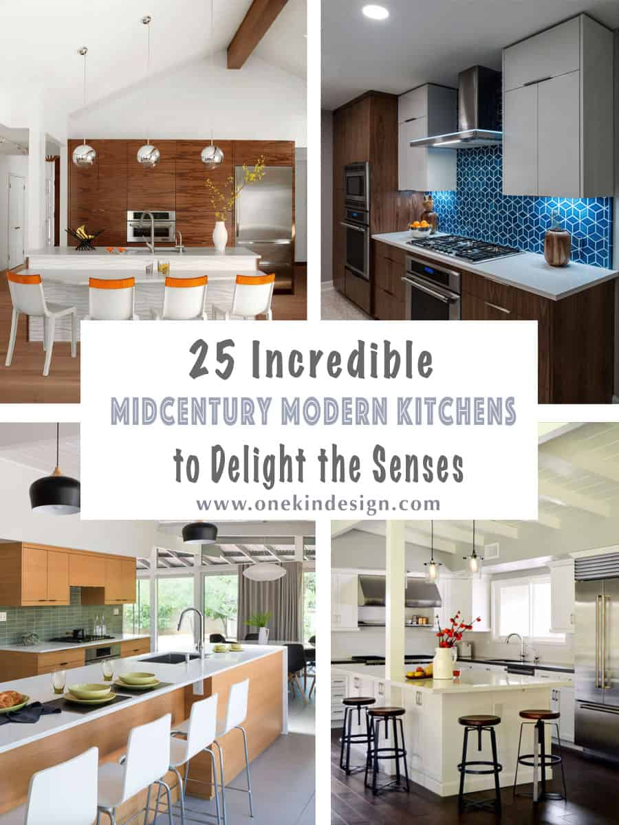 25 Incredible Midcentury Modern Kitchens To Delight The Senses