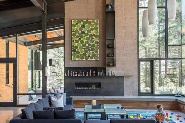 featured posts image for Modern forest sanctuary nestled in a charming California mountain town