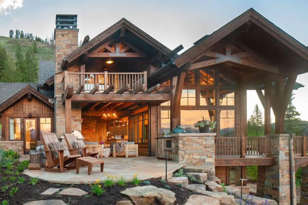 featured posts image for Modern rustic home boasts magnificent views on a Colorado dude ranch
