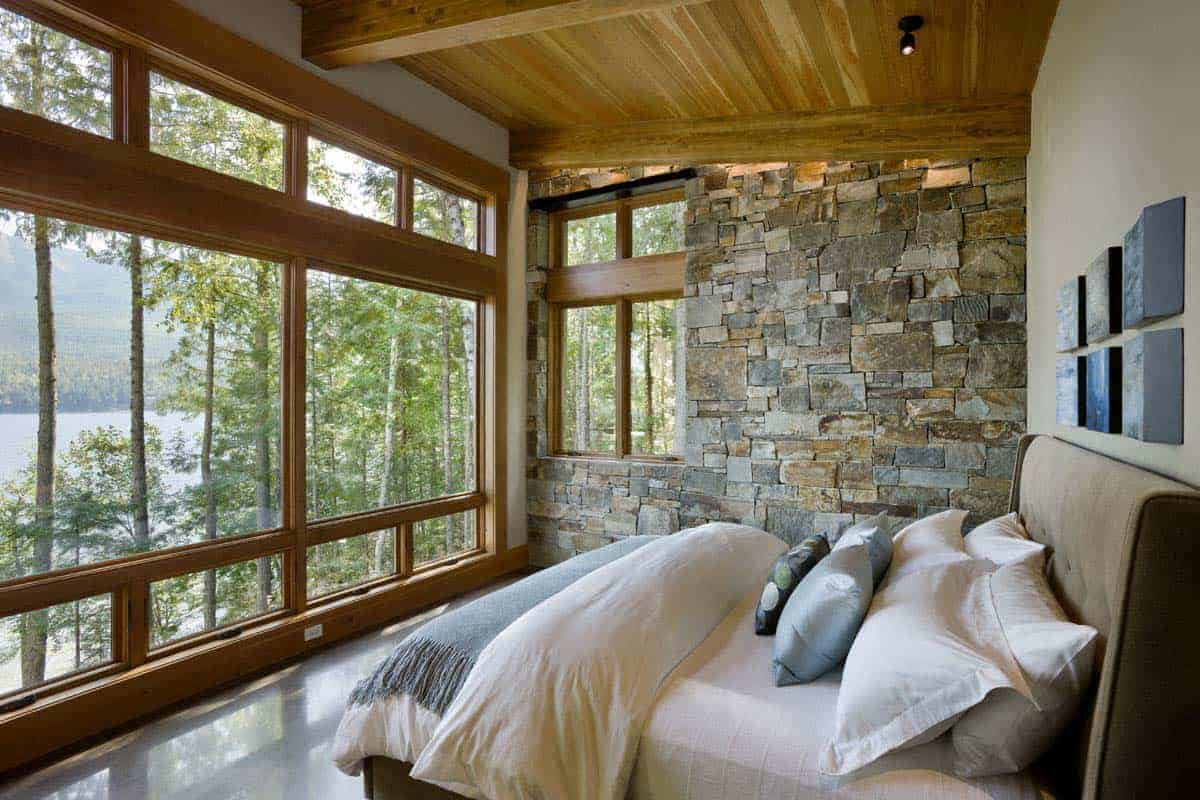 modern-rustic-lake-cabin-bedroom