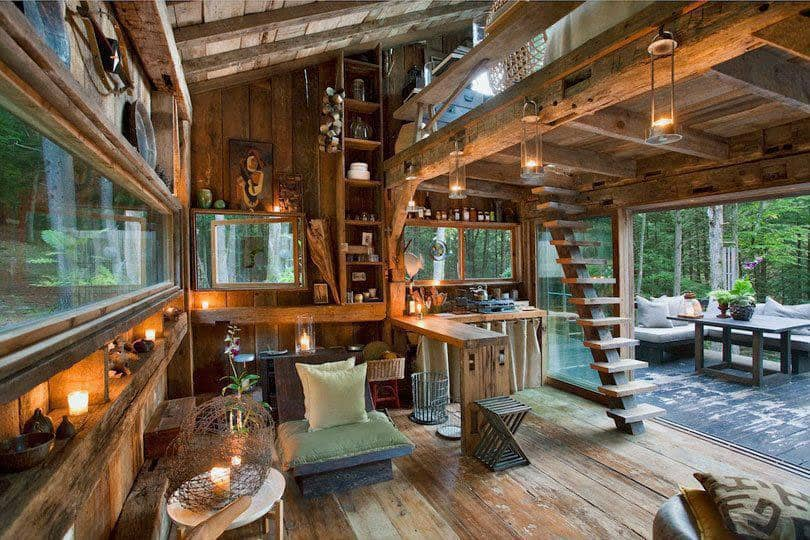 off-the-grid-cabin-woods-exterior