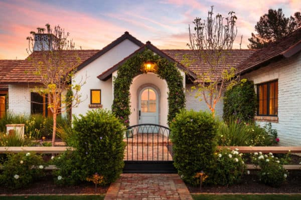 featured posts image for Charming French cottage in Arizona offers warmth and timeless beauty