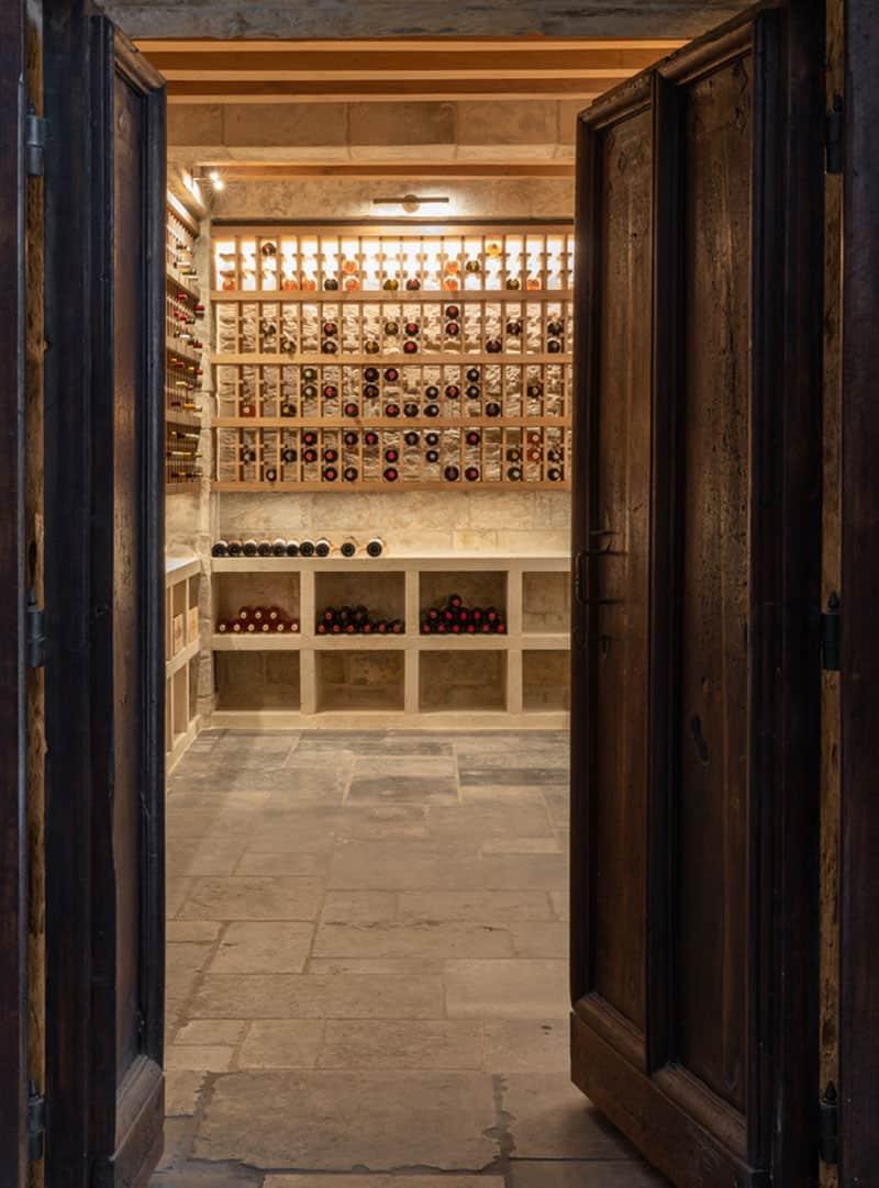 spanish-colonial-style-wine-cellar